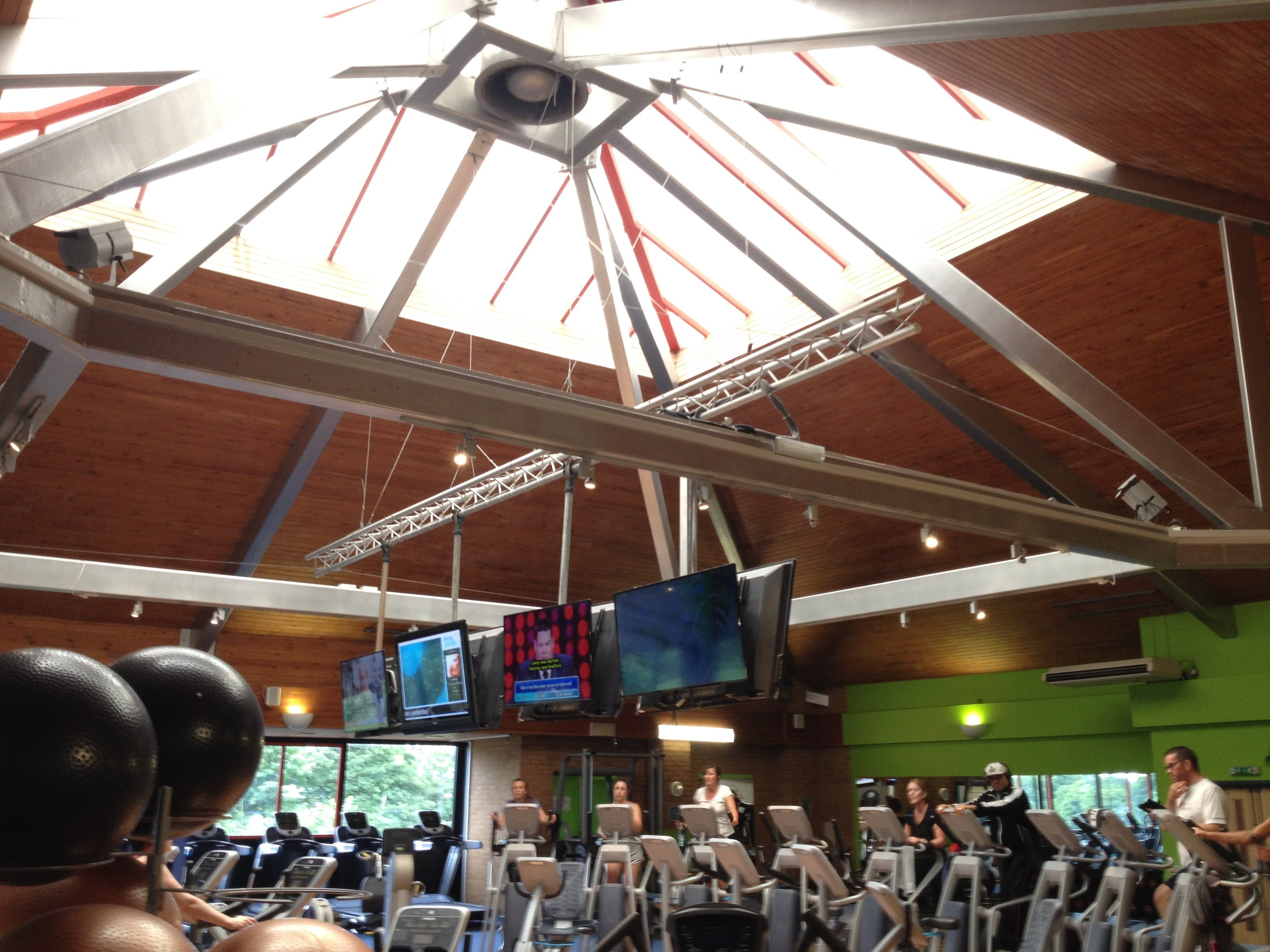 Olympiad Leisure Centre Gym Lighting